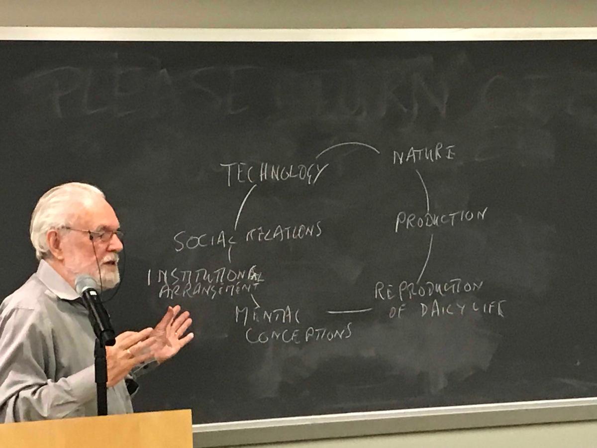 """ديفيد هارفي يناقش ما هي النيوليبرالية : مشروع الصفوة لدعم القمع باسم """"الحرية"""""""